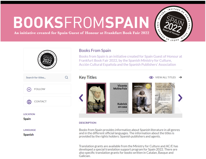 Books From Spain